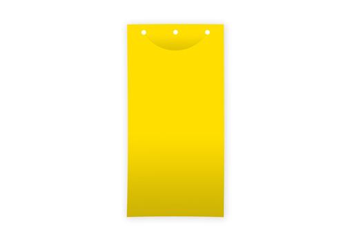 Клеевая цветоловушка лист пластик желтая 25х40 см для теплиц купить