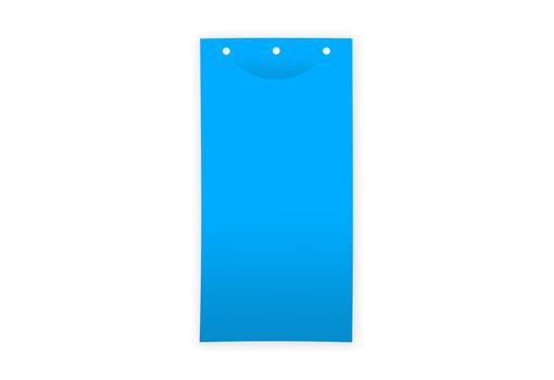 Клеевая цветоловушка лист пластик синяя 25х40 см для теплиц купить