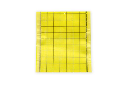 Клеевая цветоловушка для мониторинга лист пластик желтая
