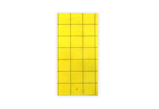 Клеевая цветоловушка для мониторинга лист пластик желтая10